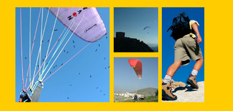 Andalucian Experience - paragliding holidays and paragliding courses with Baz and Sam Rhodes in Algodonales, Andalucia, Spain