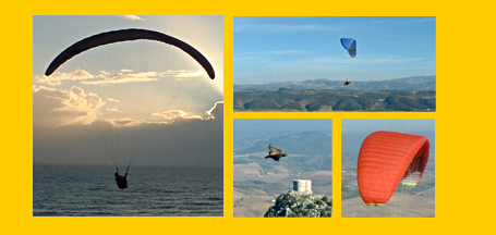 Paragliding Holidays in Algodonales, andalucia, Spain -  XC or cross country, thermal tuition and fly guiding