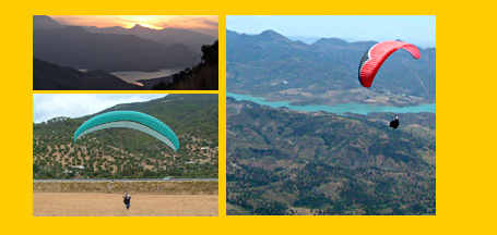 Baz and Sam Rhodes, your flying guides and hosts during your paragliding holiday and paragliding courses in Algodonales, Piedrahita, Pedro Bernado and Arcones, Spain.